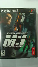 Mission: Impossible -- Operation Surma (Sony PlayStation 2, 2003) NTSC