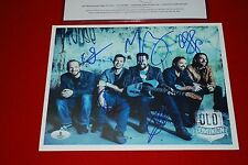 country OLD DOMINION Meat and Candy, snapback signed 8x10 Beckett BAS LOA COA