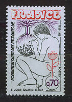 FRANCIA/FRANCE 1975 MNH SC.1438 Student health found.