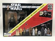 STAR WARS 40TH ANNIVERSARY DARTH VADER LEGACY PACK W Diorama. NIB