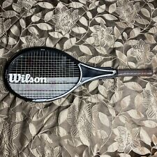 """Vintage Wilson Javelin 95 4 3/8"""" Grip 100% Graphite Midsize With Case USA Made"""