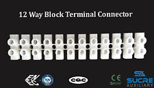17,5 A 450 VAC 12 Way Electrical Connectors Wire Block Terminal Cable Copper
