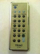 TEAC RC-962 AUDIO SYSTEM REMOTE - MC-DX20B MC-DX20