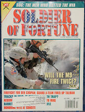 Magazine SOLDIER OF FORTUNE July, 2004 !! BARRETT Model M468-A1 6.8mm RIFLE !!