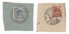 1948 GERMANY - 2 x Pieces SCHWERIN Different Cancels SG932 SG936