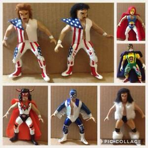 "MEXICAN LUCHA LIBRE, WRESTLING ACTION FIGURES arena custom ""5 inches"""