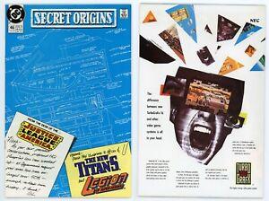 Secret Origins #46 (NM/MT 9.8) 1st Arm Fall Off HIGH GRADE Suicide Squad 1989 DC