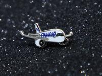 Pin CHUBBY FINNAIR Airbus A350 XWB metal Pin 1 inch / 25mm pudgy cute
