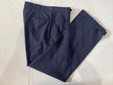 Burberry's Men's Blue Striped Dress Pants 32X30 $179