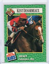 1990 Sports Illustrated for Kids Si Sifk KENT DESORMEAUX Ky Derby horse racing