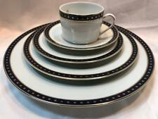Christofle Phoebe Babylone Bleu 5pc Place Setting New