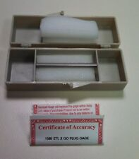 """Vermont Gage .1585 Steel Class X Go Gage 141115850 2"""" Long New Unused"""