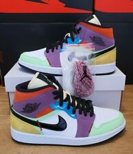 Nike Air Jordan 1 Multicolor Lightbulb UK 6.5 USA 8.5 EU 40 CW1140 100 Easter
