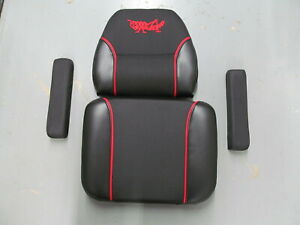 GRASSHOPPER OEM SEAT CUSHION, BACK AND ARM RESTS KIT 321518 321519 321523 2005+