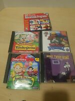 Lot of 5 Educational Kids PC Games