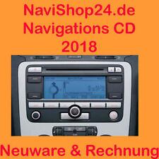 VW RNS 300 DEUTSCHLAND 2018 + EUROPA CD SET  2 CDs BLAUPUNKT NAVI CD NEU