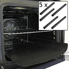 10 X universale in Teflon Cucina Forno Rivestimento Antiaderente Heavy Duty FODERA 40 x 50 cm