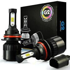 JDM ASTAR G2 8000LM 9004/HB1 CSP LED Headlight High Low Beam Lamps Xenon White