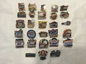 NASCAR New Hampshire Motor Speedway lot of 28 pins 2000-2014