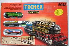 TRENEX BERTREN # 5042 SPAIN VTG 1988 LITHO TRAIN SET WITH ENGINE + WAGONS MIP