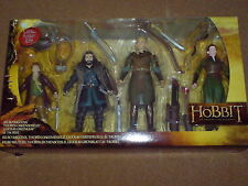 "THE HOBBIT - AN UNEXPECTED JOURNEY THE HOBBIT 6"" FIGURE 4 PACK NEW"
