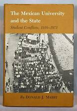 Mexican University Student Conflicts 1910-71 Mabry 1st