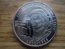 10 Euro Silbergedenkmünze 2011 200 Geb Franz Liszt bankfrisch