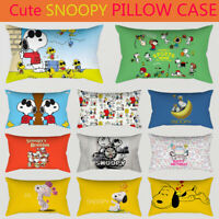 Home Decor Snoopy Pillowcase Cute Dog Pillow Case Bedroom Sofa Cushion Cover
