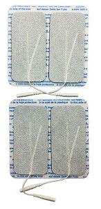 Selbstklebende Elektroden 40 x 80 mm, 4 Stk. | Schmerztherapie | TENS-Elektroden