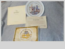 Collector Plate Ship Biulder New Cond Org Box Rockwell Cert Authen Lamogesfrenc