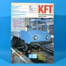DDR KfT Kraftfahrzeugtechnik 6 1976 Shiguli-Kombi IFA W 50 QEK Junior Bastei 28
