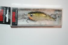 """rapala jsr-7 jsr07 yp jointed shad rap suspending 2 3/4"""" 7/16oz yellow perch"""