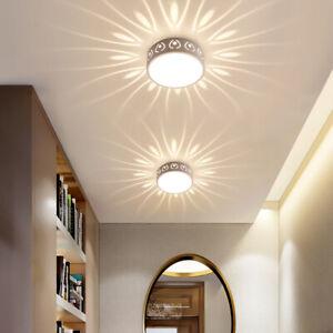 Modern Crystal LED Ceiling Light Circular Pendant Lamp Lighting Chandelier Lamp