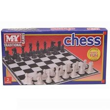 M.Y. Traditional Board Game Chess 35.5 cm x 35.5 cm #TY54