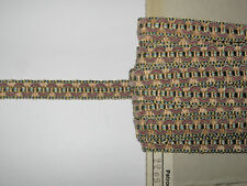 12,50 METRES DE GALON ANCIEN PASSEMENTERIE DE LYON-VINTAGE FRENCH TRIM-N°UL35