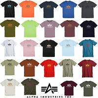 Alpha Industries Basic T-Shirt Herren T-Shirt Rundhals Freizeit Tee 100501