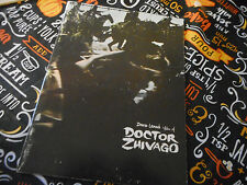 David Lean's Doctor Zhivago 1967 Movie Program Book Omar Sharif Julie Christie