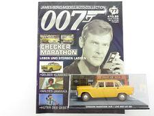 James bond Collection cuaderno 77 Checker Marathon taxi Moore 007 OVP 1603-30-95