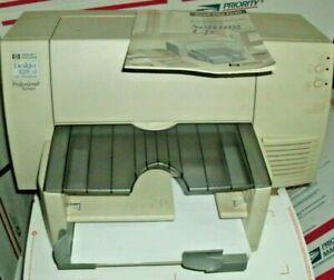 HP Deskjet 820Cxi Professional Inkjet Printer w/ Manual Adapter PART REPAIR ONLY