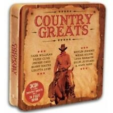 COUNTRY GREATS (LIM.METALBOX ED.) 3 CD NEU