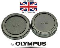 NEW Body & Rear Lens Cap For Olympus OM Mount *UK Seller* SLR Film Camera / Lens