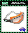 MSA CHEMPRO CLEAR Lens Safety Goggles Eyewear Protection 766761CAF