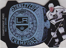 14-15 Black Diamond Matt Greene Championship Rings Stanley Cup LA Kings 2014