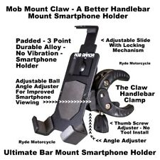 Mob Armor Claw Handlebar Bar Mount Motorcycle ATV Boat Rail Smartphone Holder