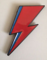 David Bowie Aladdin Sane Lightning Pin Badge