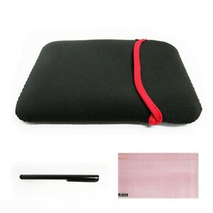 Neoprene Sleeve Carrying Bag Case Cover For Garmin RV 770 NA LMT-S GPS - NC7