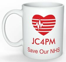 JC4PM mug, Support Labour and defend the NHS