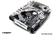 Skin Decal Sticker Wrap for Pioneer CDJ 2000 Turntable DJ Mixer Pro Audio RPR W