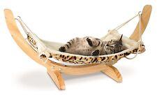 Deluxe Pet Cat Hammock Wooden Fleece Bed Animal Hanging Dog Comforter Furniture