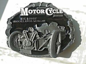 Morgan belt buckle brooklands Morgan.